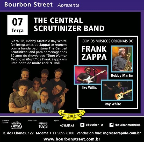 Robert Bobby Martin The Central Scrutinizer band